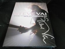 STEVE VAI SIGNED - Where The Wild Things Are - 2 DISC DVD LIVE SET NEW Guitar