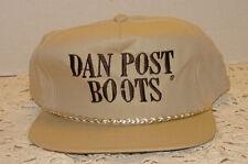 Dan Post Boots Cap Hat Snapback Baseball Cap Style Nice