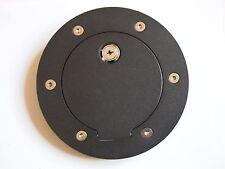 Black Gas Fuel filler Cap Door Cover w/Lock for 02-09 DODGE RAM 1500 2500 3500
