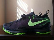🔥Nike Air Zoom Ultra React Clay Tennis Shoes Black/Green 916643-003 Men's sz 11
