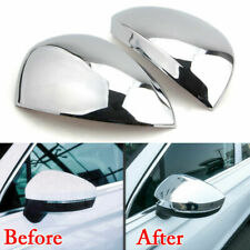 Auto Door Side Rearview Mirror Side Guard Protector Trim For VW Tiguan 10-2016