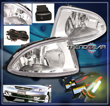 2004 2005 HONDA CIVIC LX DX COUPE SEDAN 2/4DR BUMPER CLEAR FOG LIGHT+HARNESS+HID
