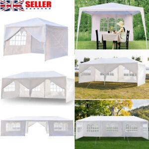 3x3M Heavy Duty Gazebo Marquee Canopy Waterproof Garden Patio Party Tent 3 Style