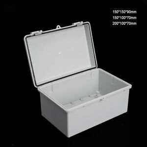 IP65 IP66 Waterproof Weatherproof  Plastic Junction Box Electric Enclosure Case