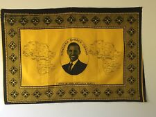 Barack Obama kanga, 2008. (yellow and black)