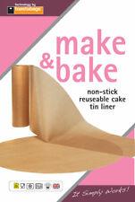 """Toasterbags Reusable Non-Stick Round Cake Tin Liner 7"""" 8"""" or 9"""""""
