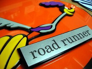 ROADRUNNER 3D CAR ART SIGN FORD Dodge Mopar custom SUPER NEW Plymouth Hemi