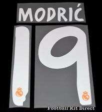 Real Madrid Modric 19 La Liga Football Shirt Name/Number Set 2013/14 Away