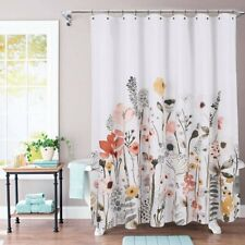 "THRESHOLD Floral Wave Shower Curtain | 72"" x 72"" 