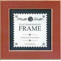 MILL HILL FRAME 6 x 6 in Fits Button & Bead Cross Stitch Kits RUST