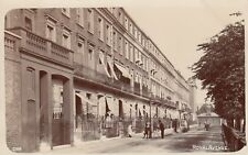 English Real Photo Postcard. Royal Avenue,  Chelsea. Nice Scene!  Cook. c 1907