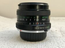 Vivitar 24mm f2.8 Prime Manual Focus Lens For Minolta MD Mount