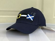 Lacoste 2020 Flags EMB and Title Solid Cap Hat $55 NWT Navy