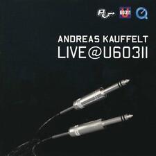 ANDREAS KAUFFELT = Live @ U60311 = CD = TECHNO ELECTRO !!