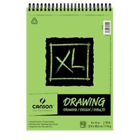 """Canson XL Drawing Pad (60 Sheets - Spiral Bound) 9x12"""""""