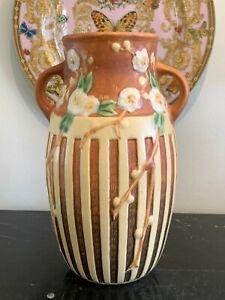 Vintage Roseville #626 Cherry Blossom Vase