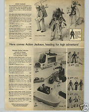 1972 PAPER AD Action Jackson Big JIm Action Figure Dune Devil Buggy Motorcycle
