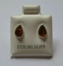 Gioielli di lusso in argento sterling ambra