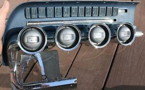 1964 1965 1966Ford Thunderbird T-Bird Speedometer BLUE Dash Cluster Bezel