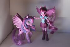 My LIttle Pony Twilight Sparkle and Equestrian Girl Good Condition See Photos