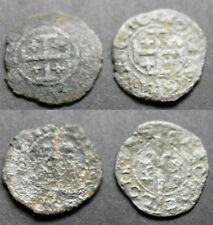 Lorraine - Duché de Lorraine - 2 féodales à identifier (Charles 3 ou 4)
