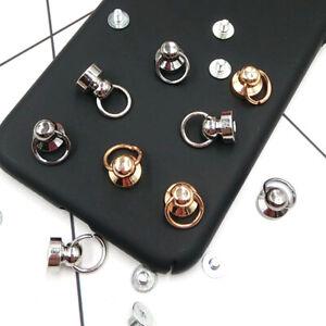 5Pcs Luggage Bag Buckle Tongs Snap Hook Ring w/ Screws DIY Bag Phone Accessory