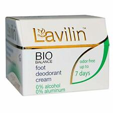Lavilin Foot Care Award Winning Foot Deodorant Cream, 12.5 Grams