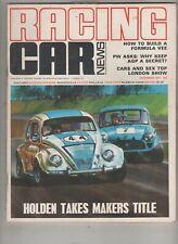 Racing Car News 1971 Dec Elfin Mini VW Calder Oran Park Winton Warwick Farm Sand