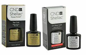 CND Shellac Base + Top coat *Versand nach DE 2-3 Tage* Super Qualität Gel Polish