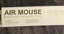 Wireless Air Mouse 2.4G Motion Sense Black Remote Control Keyboard