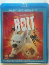 Bolt (Blu-ray/DVD,3 Disc Set,  2009) (NEW)