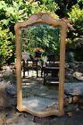"""Ethan Allen Country French Vertical Mirror Birch #26-5300 270 """"Bisque"""" Ca. 1992"""
