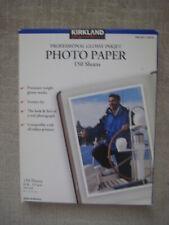 KIRKLAND SIGNATURE PROFESSIONAL GLOSSY INKJET PHOTO PAPER 150 SHEETS