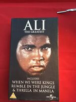 MUHAMMAD ALI  VHS  Box Set Original Rumble In The Jungle When We Were Kings