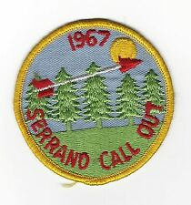 BOY SCOUT OA 252 SIWINIS   SERANO CHAPTER ER1967  LOS ANGELES A.C.  CAL