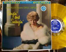 CAROLE SIMPSON Singin And Swingin VINYL LP TV Steve Allen JAZZ VOCALS Cheesecake