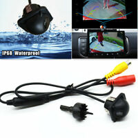 Car Reversing Backup Parking 170° Back Rear View Parking Hole Straw Hat Camera