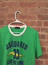 D2 Dsquared2 Green T-Shirt Sz XL Slim