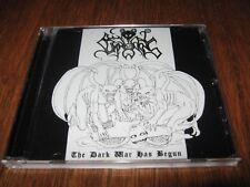 "BESTIAL SUMMONING ""The Dark War Has Begun"" CD profanatica beherit"
