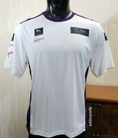 FIA Formula E Championship White Virgin Racing Sportswear Shirt Top Sz M **NOTE