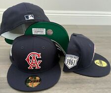 New Era Cap 59FIFTY CALIFORNIA ANGELS Hat Fitted 5950 COOPERSTOWN INAUGURAL