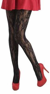 Pamela Mann  Paisley Net Tights - Black - Show off them legs in  UK 8 - 14