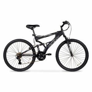 "Hyper 26"" Havoc Men's Mountain Bike, Black Gray"