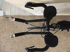 Womens Cervelo 54cm full carbon fork and frame triathlon bike.