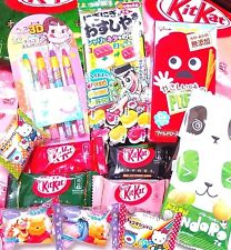 JAPANESE CANDY DAGASHI Sushi Gummy, Pencil Chocolate Cookie KitKat & Hello Kitty