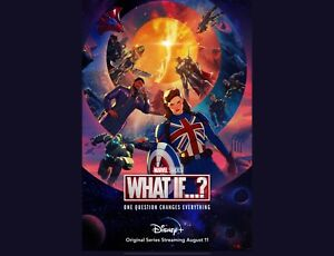 What If…? NEW TV animated Series Wolverine DECAL Poster Comic Spider Man Zombies