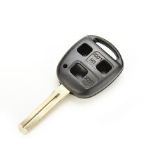 3BUTTON REPLACEMENT REMOTE KEY FOB CASE SHELL BLADE*FOR LEXUS GS300 IS200 RX300C