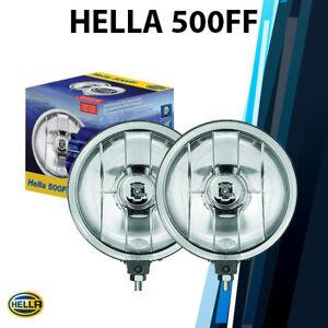 (Pair) Hella Rallye 500FF Driving Lamp 005750941 12V 55W H3 Halogen Spot Light
