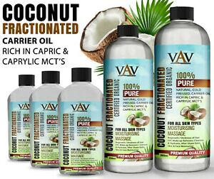 Coconut Fractionated Oil Perfect for moisturising and massage High Quality UK