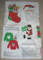 Christmas Cranston FABRIC Panel COTTON HOLIDAY APPLIQUES CRAFTS SEWING SHIRT
